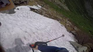 July 1st summer skiing on Mount Washington 2017