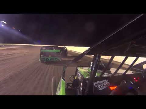Mod lite in car camera Blake Wilson Heat Race Greenville, Mississippi 9-9-2017