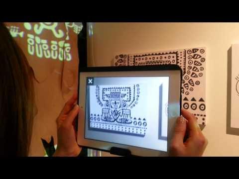 CIRCUSAR, Design & Art Fair 2013 시연영상
