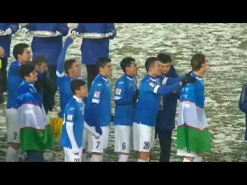 U-23 Uzbekiston chempion.  Taqdirlash Marosimi. Olg'a Uzbekiston