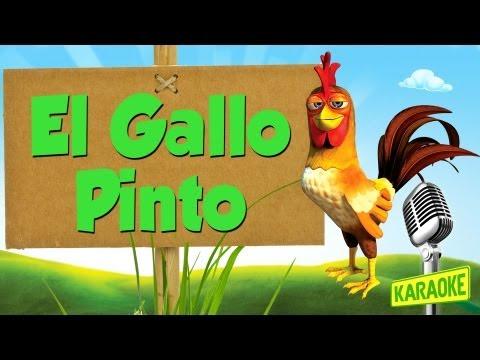 KARAOKE El Gallo Pinto, con letra