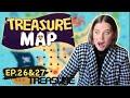TREASURE MAP EP.26 & EP.27 REACTION!!! - Triplets REACTS