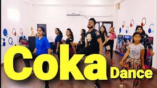 COKA : Sukh-E | #Coka #Sukhe #Jaani punjabi song fitness dance choreography by amit