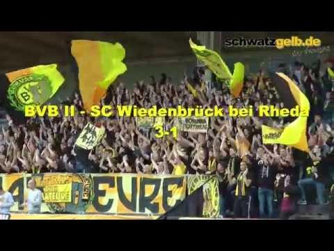 BVB II - SC Wiedenbrück U23 3-1 Regionalliga West 26.09.2015 Stimmung und Stimmen