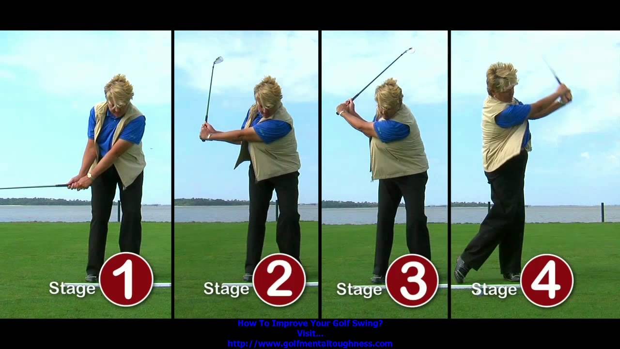 Build Golf Swing with 5 simple steps Golf Tip Video - YouTube