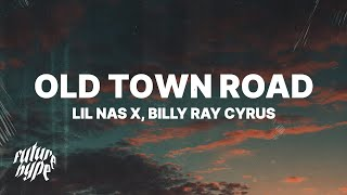 Gambar cover Lil Nas X, Billy Ray Cyrus - Old Town Road (Remix) (Lyrics)