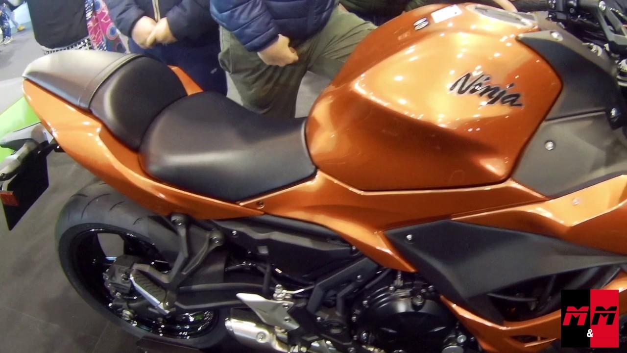 Kawasaki Ninja 650 Motor Bike Expo 2017 Youtube