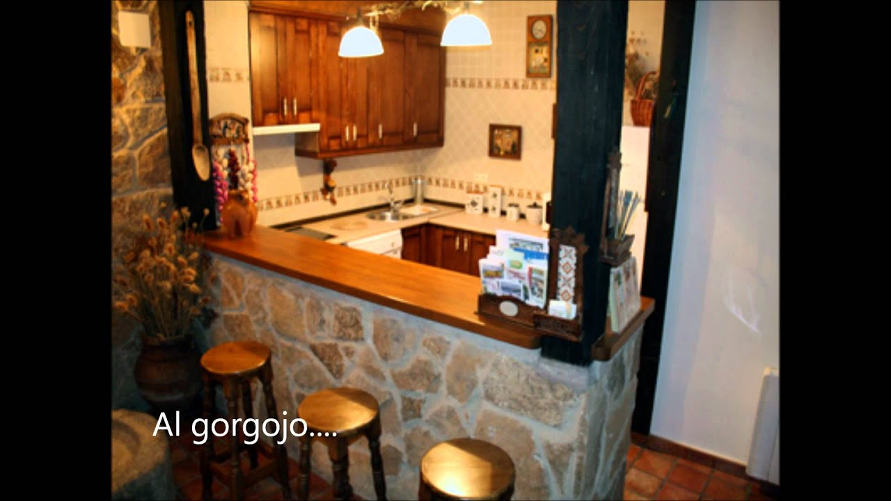 Cocinas integrales m b video youtube for Cocinas integrales rusticas