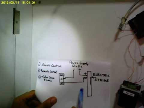 hqdefault gadget pulse electric strike part 2 youtube hes 9600 electric strike wiring diagram at bayanpartner.co