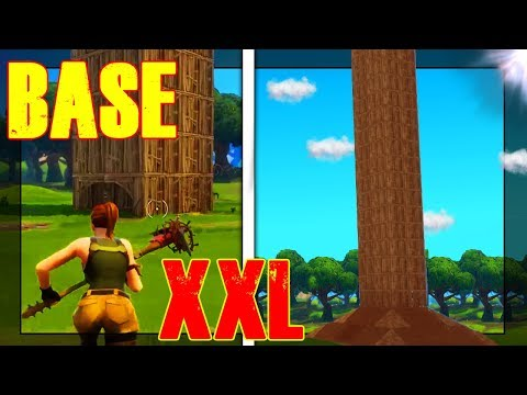 BASE TROLL FORTNITE | FAIRE LA PLUS GRANDE TOUR DU JEU !