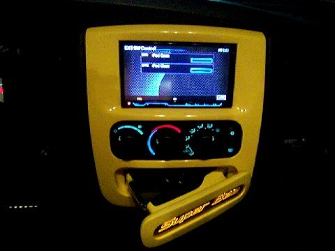 Rumble Bee Turned Super Bee Motorized Ipod Compartment
