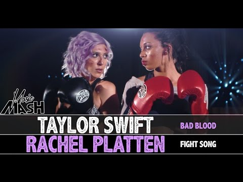 Fight Song / Bad Blood MASHUP - Taylor Swift / Rachel Platten