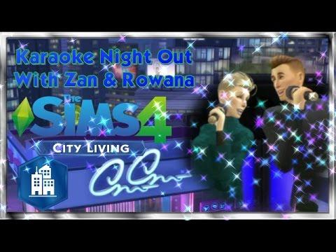 Karaoke Night Out with Zan and Rowana