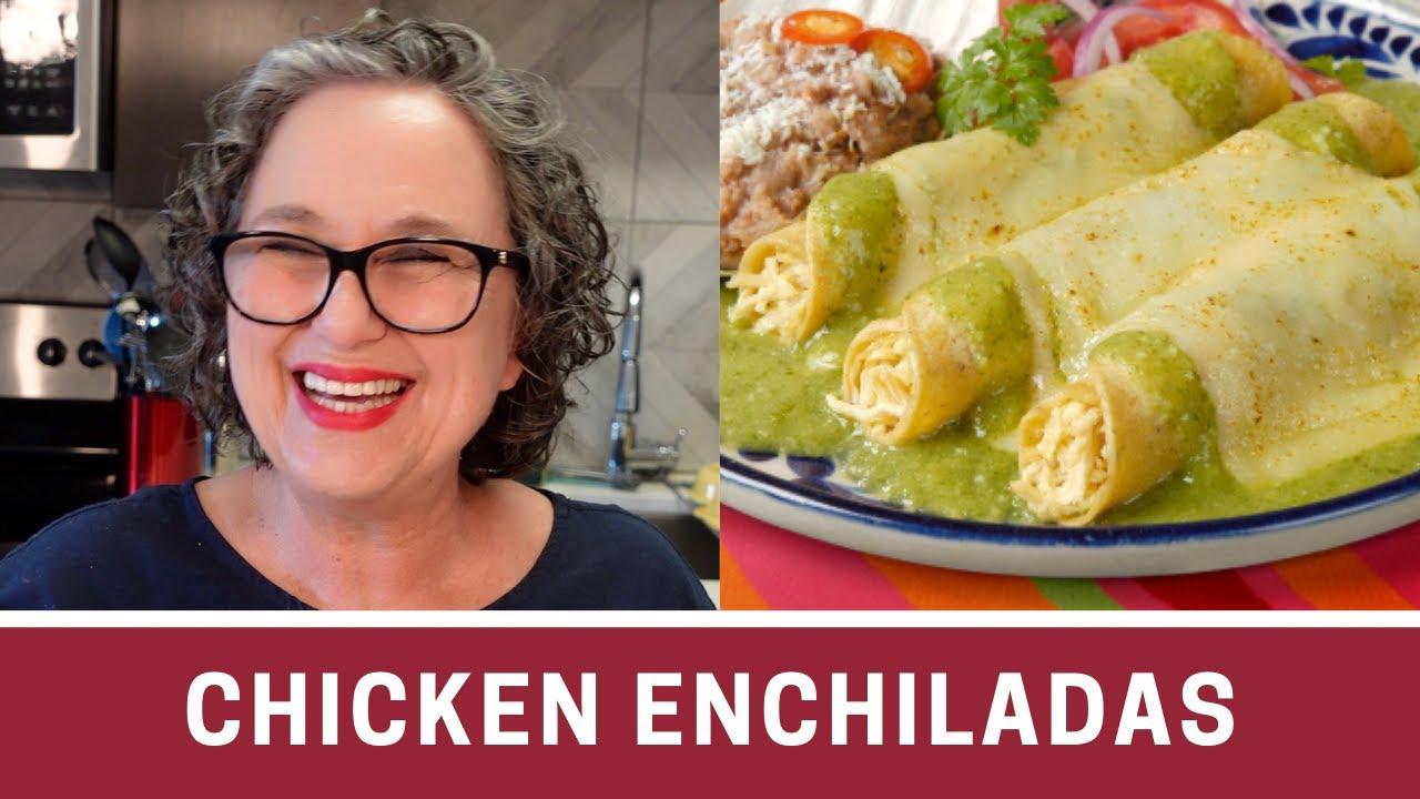 How to Make Chicken Enchiladas with Salsa VerdeYouTube
