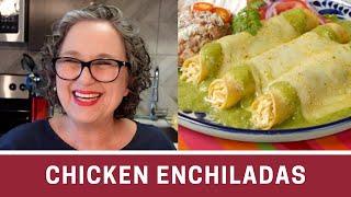 How To Make Chicken Enchiladas With Salsa Verde
