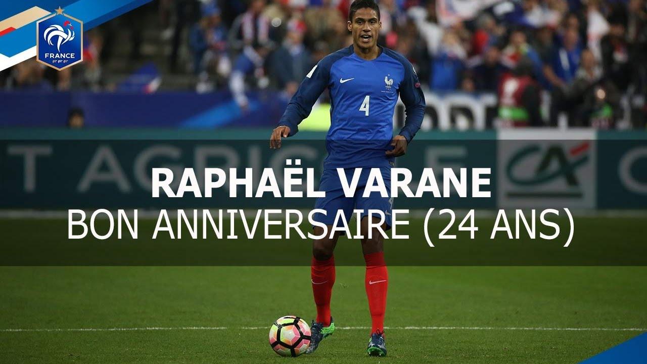 Bon anniversaire Rapha l Varane