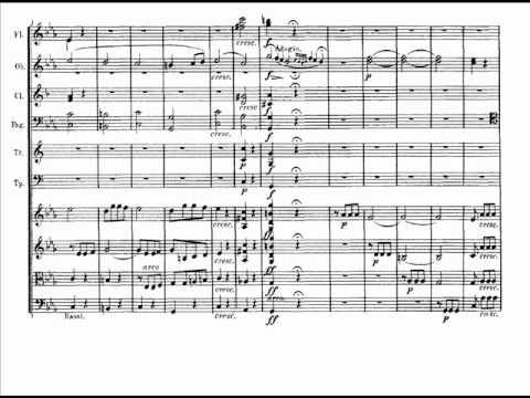 Beethoven - Quinta sinfonia - I movimento (score)
