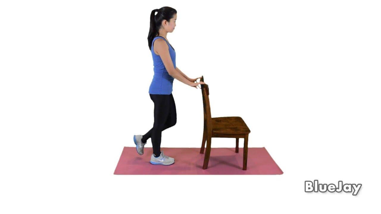 337A Single Leg Balance with Chair Eyes Open