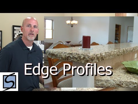 Countertop Edge profiles Granite and Quartz