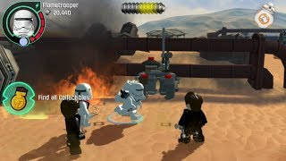 Lego Star Wars: The Force Awakens (PS Vita/3DS/Mobile) Niima Bombardment - All Collectibles