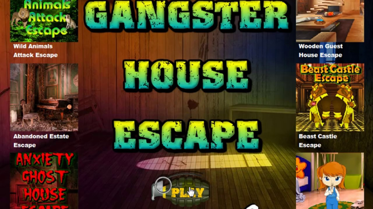Gangster house escape video walkthrough youtube for Minimalistic house escape 5 walkthrough