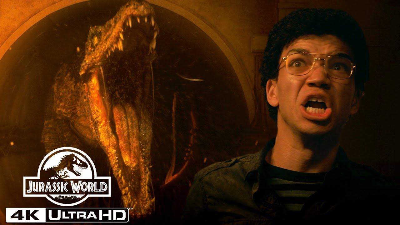 Download Jurassic World's Scariest Dinosaur Attacks in 4K HDR