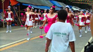 the MNHS..MAGALLANES AGUSAN DEL NORTE FIESTA PARADE