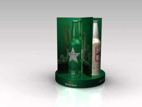 Heineken Bar Unit - 3D Animation
