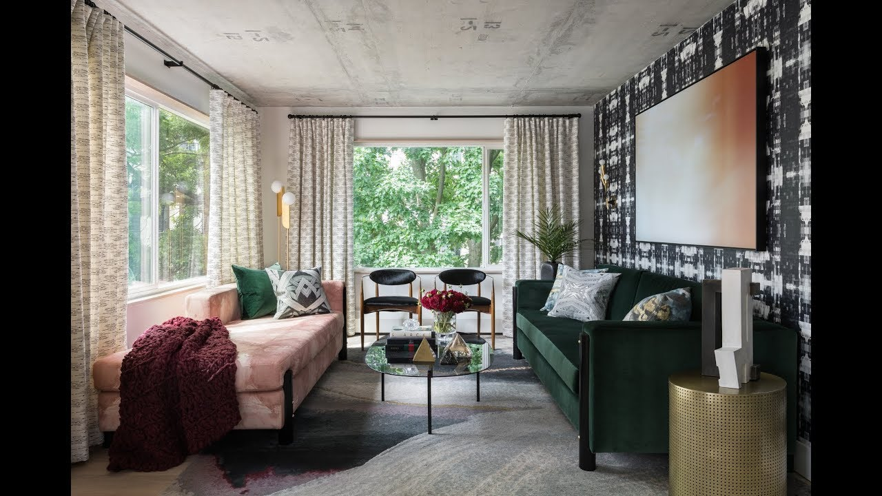 Interior Designer's Home Tour: Michelle Dirkse's 1960's Mid-Century Condo Remodel with Textiles Line