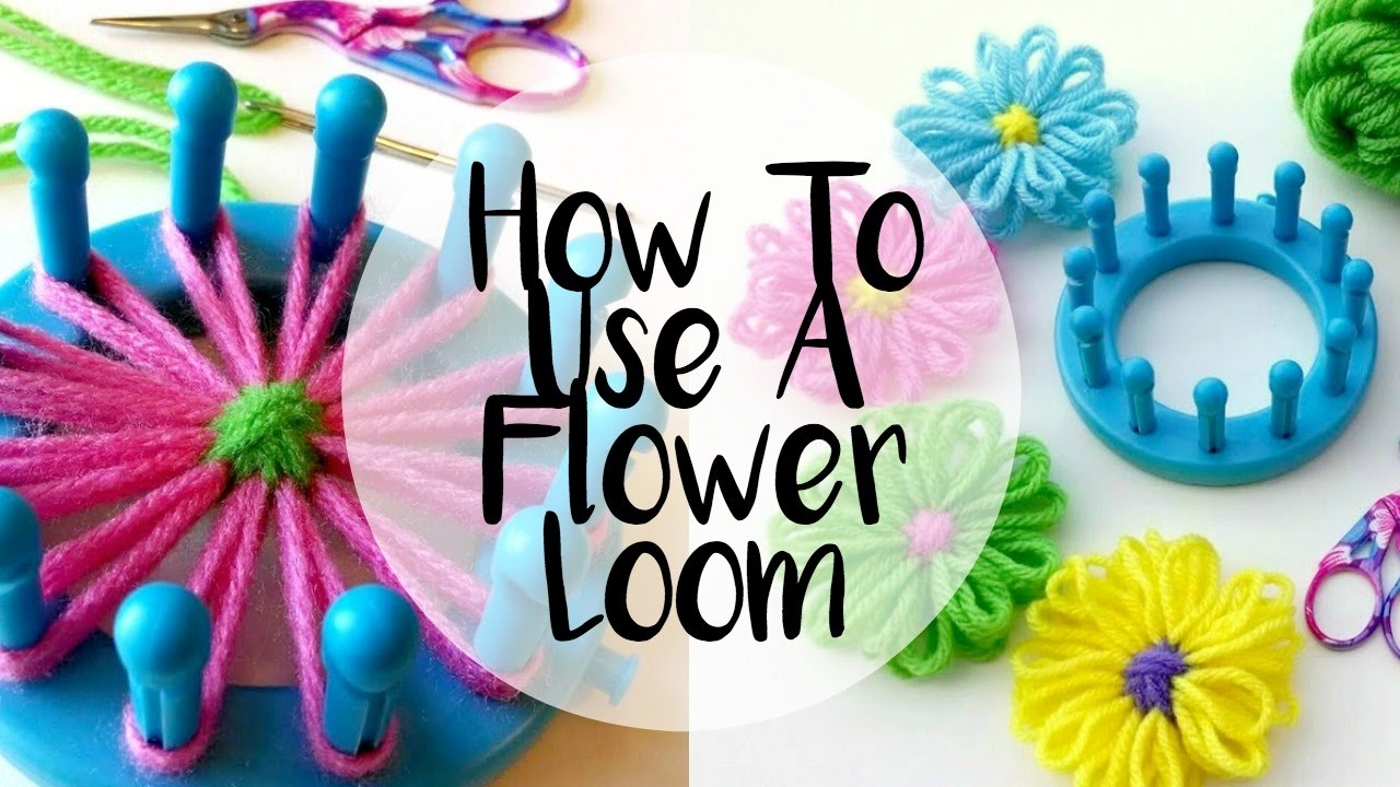 Flowers Knit Ear Warmer