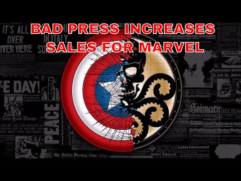 SJW MARVEL COMICS EDITOR IN CHIEF AXEL ALONSO BELIEVES BAD PRESS HELPS TO SELL COMICS