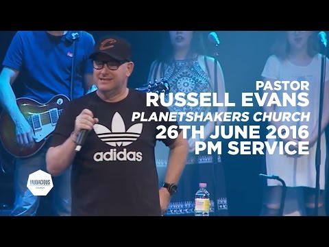 Russell Evans (Planetshakers Church Australia) - Don't just be filled, be flooded - 26th June 2016