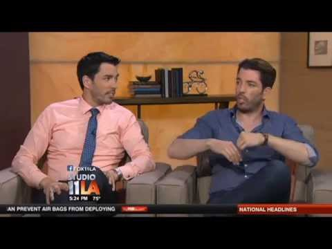 drew u0026 jonathan scott on their home in vegas youtube - How Tall Is Jonathan Scott