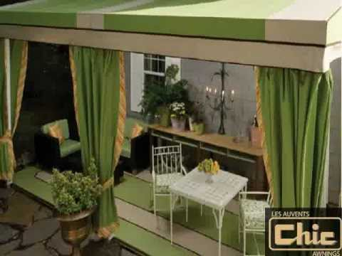 Retractable Awnings And Patio Coverings (514)489 8900   Montreal Quebec  Awnings And Patio Coverings