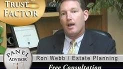 Legal Advice, Estate Planning, Trustee, Ron Webb, San Diego