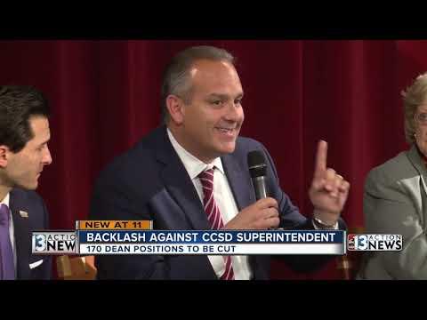 Clark County School District Superintendent Responds To No Confidence Vote