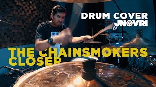 THE CHAINSMOKERS - CLOSER DRUM COVER [INDONESIAN DRUMMER]