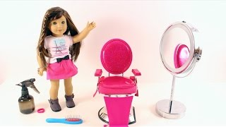 American Girl Doll Truly Me Styling Chair REVIEW