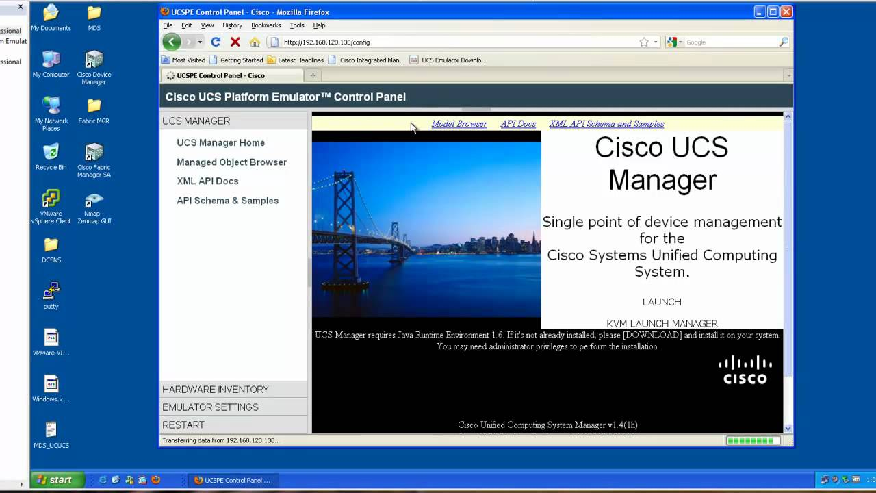 Cisco UCS Emulator Install