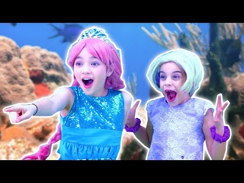 PRINCESS MERMAID TRANSFORMATION 🐬 Malice Pranks Isabella! - Princesses In Real Life | Kiddyzuzaa