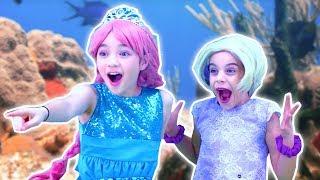 PRINCESS MERMAID TRANSFORMATION 🐬 Malice Pranks Isabella! - Princesses In Real Life | Kiddyzuzaa