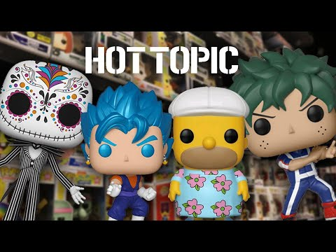 Funko Pop Hunting  Hot Topic Re-releasing exclusives
