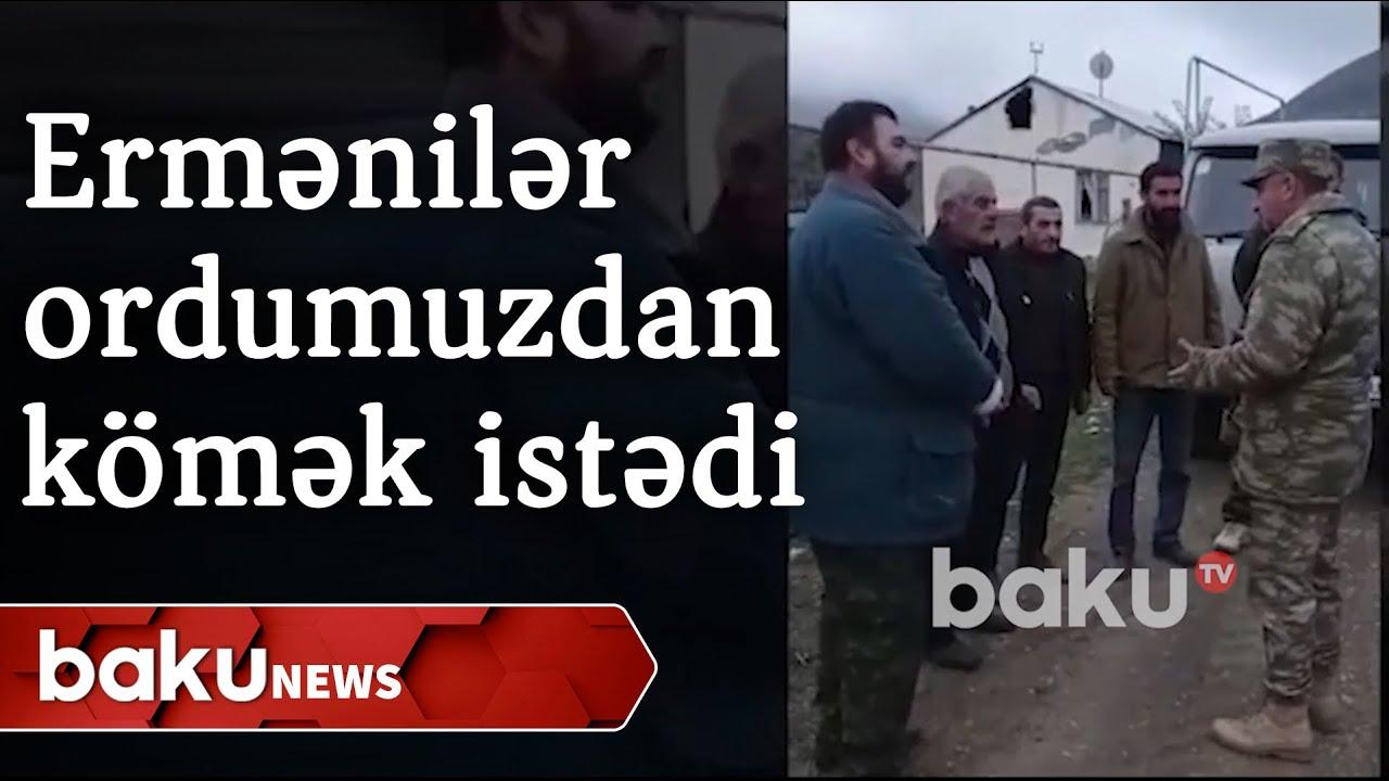 Ermənilər Azərbaycan ordusundan kömək istədi