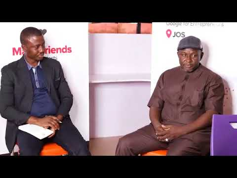 Startup Grind Jos Fireside Chat with Simon Iliya CEO Bluewhales Nig. Ltd.