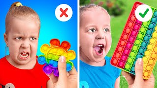 100+ PARENTING HACKS || HOW HARD IS TO BE A MOM