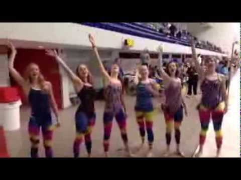 Let it Go by Carroll Girls State Swim Team 2014 - YouTube