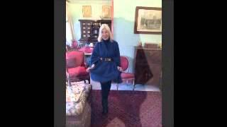 Arlette  Lee   Monaco  Blue  Paris Chic