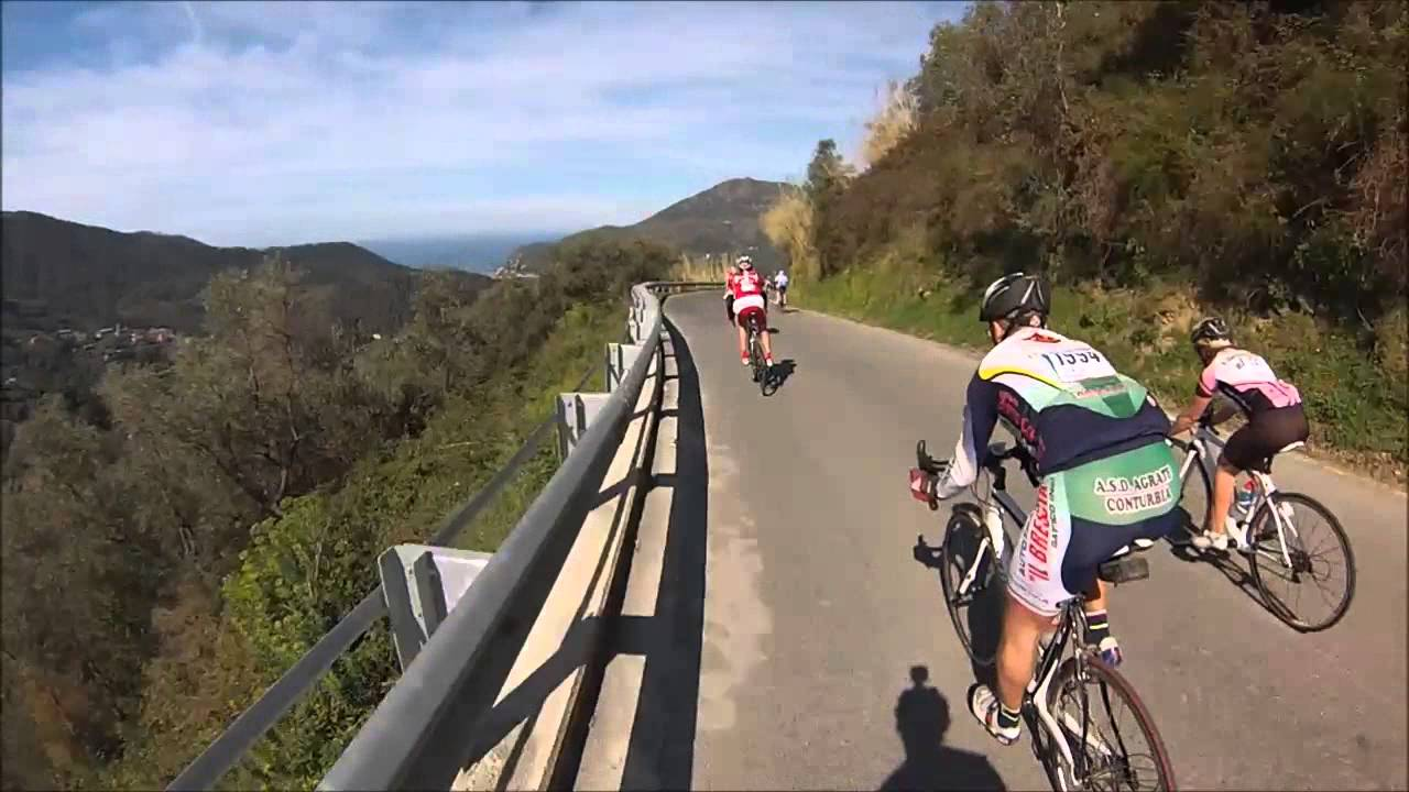 Epic Downhill Road Bike Race 100 Overtakes Granfondo