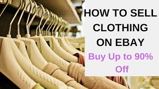 How to Sell Clothing on eBay