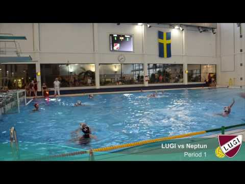 Swedish Water Polo - LUGI vs Neptun Ladies Elitserien - Feb 5, 2017